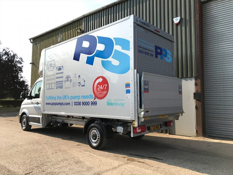 Lorry Van Wrapping